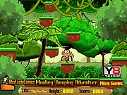 Thumbnail of Monkey Jumping Adventure Game