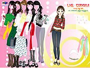 Thumbnail of Nice Girl Dressup
