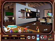 Thumbnail of Messy Rooms Hidden Objects