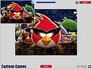 Thumbnail of Angry Birds: Jigsaw Game
