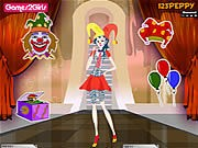 Thumbnail of Billy Clown Girl Dressup