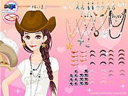 Thumbnail of Texan Beauty Dressup