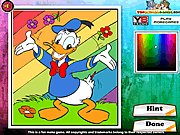 Thumbnail of Donald The Duck Coloring