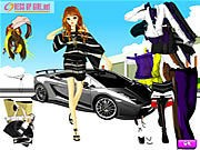 Thumbnail of Uptown Girl Dressup