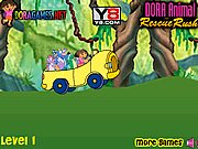 Thumbnail of Dora Driving Rush