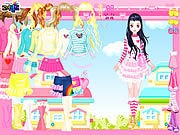 Thumbnail of Pink Hearts Dress Up