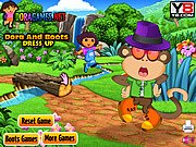 Thumbnail of Dora and Boots Dress Up