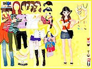 Thumbnail of Yellow Casual Dress Up
