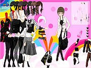 Thumbnail of Black and White Dress Up