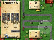 Thumbnail of Speedway Tower Defense