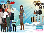 Thumbnail of Sun Snow Dressup