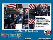 Thumbnail of Iron Man 3 Sliding Puzzle