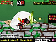 Thumbnail of Bart Simpson ATV Drive