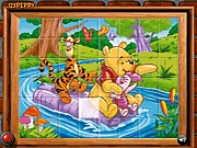 Thumbnail of Sort My Tiles Pooh Piglet Tigger
