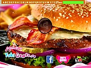 Thumbnail of Bacon Burger Hidden Letters