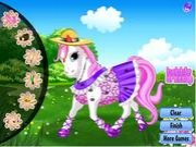 Thumbnail of Happy pony dress up