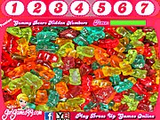 Thumbnail of Gummy Bears Hidden Numbers