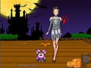 Barbie in Halloween thumbnail