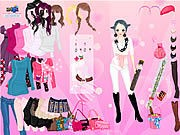 Thumbnail of Pink Glitter Dress Up
