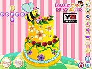 Thumbnail of Flamboyant Flower Cake Decor