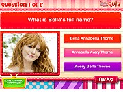 Thumbnail of Bella Thorne Quiz