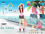 Thumbnail of Beach Doll Dress Up
