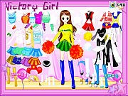 Victory Girl Dressup thumbnail