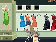 Thumbnail of Shop N Dress Food Roll Game: Latin Dance Dress