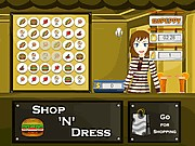 Thumbnail of Shop N Dress Food Roll Game:Ginger and Smart