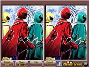 Power Rangers Spot The Differences thumbnail