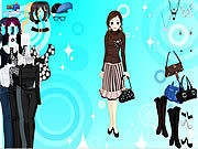 Thumbnail of Black and White Dressup