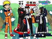 Naruto and Friends Dress Up thumbnail