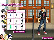 Thumbnail of Liam Payne Dress Up Game