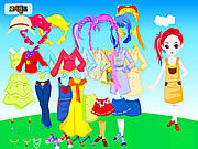 Thumbnail for Colorful Doll Dressup