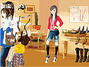 Thumbnail for Kathryn In House Dressup
