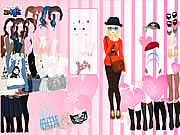 Thumbnail for Pink Wallpaper Dress Up