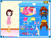 Thumbnail for Little Doll Girl Dressup
