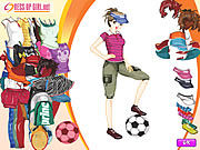 Thumbnail for Sporty Girl Dressup