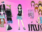 Thumbnail for Pink Star Dress Up