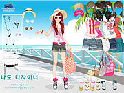 Thumbnail for Beach Doll Dress Up