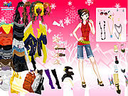 Thumbnail for Shopping Girl Dressup 2