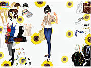 Thumbnail for Top and Jeans Dress Up