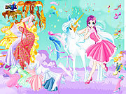 Thumbnail for Fairy and the Unicorn Dressup