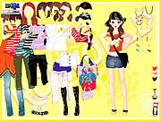 Thumbnail for Yellow Casual Dress Up
