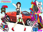 Thumbnail for Car Girl Fashion