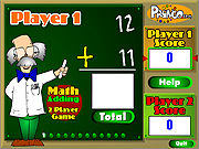 Thumbnail of Two Player Math Game