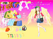 Thumbnail for Fashion Angel Dress Up