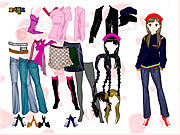 Thumbnail for Colorful Girl Dress Up