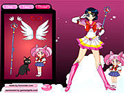 Thumbnail for Sailor Moon Dressup