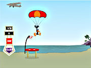 Thumbnail of Daffy Duck Sky Diving